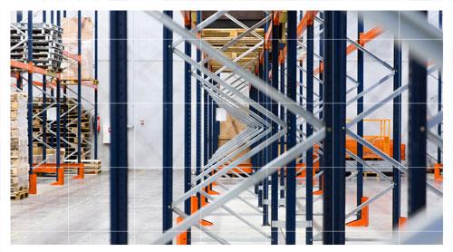 Perfiles metálicos para estanterías metálicas